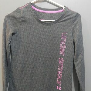 Girls Under Armour Long Sleeve Tee Size L